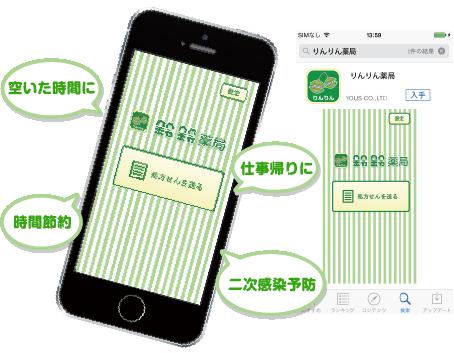 りんりん薬局アプリ